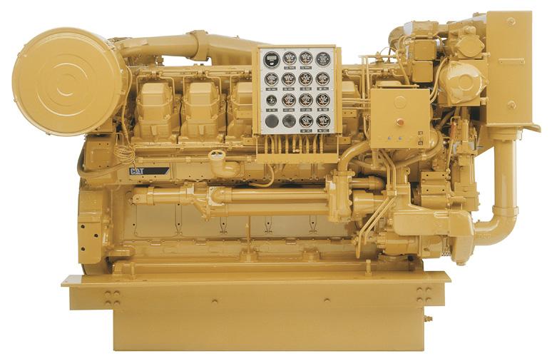 CAT_3612_diesel_engine