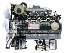 NISSAN QD32T engine